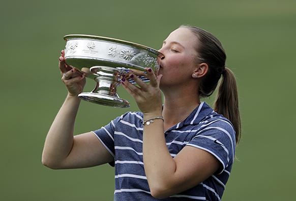 Jennifer Kupcho wins at Augusta